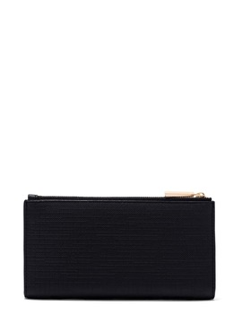 Signature Slim Coated Canvas Wallet by Dagne Dover