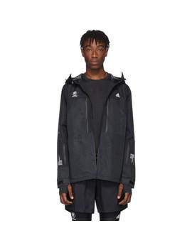 Black Neighborhood Edition Jacket by Adidas Originals