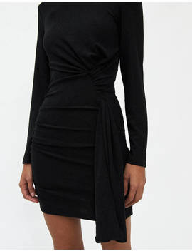 Anette Shimmer Dress In Black by Stelen Stelen