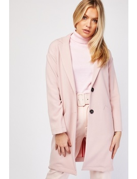 Slanted Pocket Front Coat by Everything5 Pounds