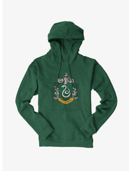 Harry Potter Slytherin Serpents Badge Hoodie by Hot Topic