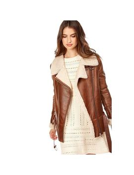Manteau En Mouton Nao, Made In France by Dks