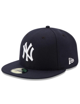 Men's New Era Navy New York Yankees Game Authentic Collection On Field 59 Fifty Fitted Hat by New Era
