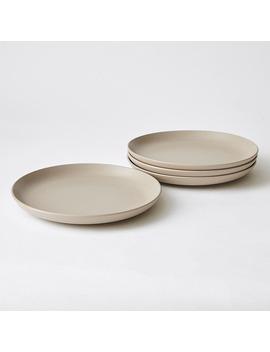 4 Pack Matte Glaze Dinner Plates by Target