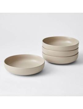 4 Pack Matte Glaze Pasta Bowls by Target
