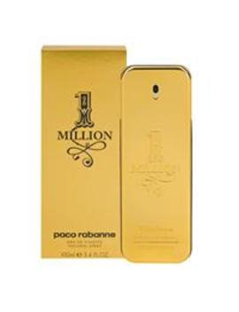 Free Shipping                                                                            Paco Rabanne 1 Million Eau De Toilette Spray 100m L by Fragrances