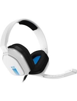 A10 Wired Stereo Gaming Headset For Play Station 4   White by Astro Gaming