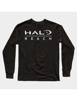 Halo Reach Logo Long Sleeve T Shirt by Tee Public