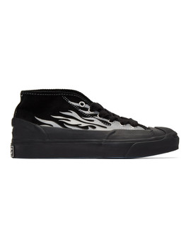 Black A$Ap Nast Edition Jack Purcell Chukka Sneakers by Converse