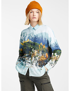 Nordic Forest Shirt by Twik