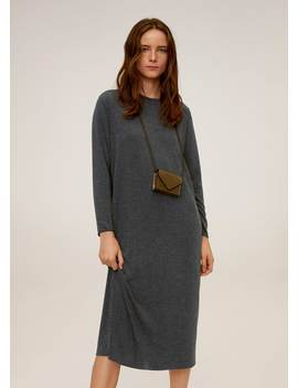 Knit Midi Dress by Mango