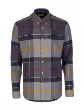 Barbour Grey Tartan Classic Shirt by Barbour