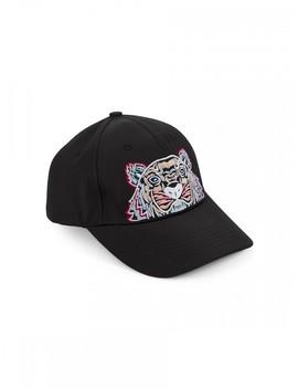 Kenzo Black Tiger Cap by Kenzo