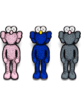 Kaws Bff Pin (Set Of 3) Multicolor by Stock X