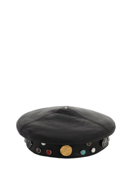 Lvr Exclusive 1952 Leather Hat by Moncler Genius