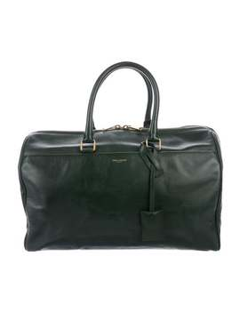 Leather Classic Duffle 12 by Saint Laurent
