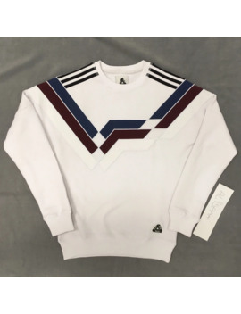 Attention Description Palace X Adidas Rare White Crewneck by Adidas  ×  Palace  ×