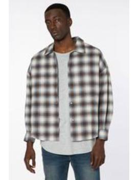 Plaid Flannel Shacket by Elwood Clothing