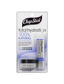 Chapstick Total Hydration Soothing Vanilla & Lip Scrub by Lip Balm