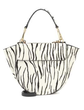 Hortensia Mini Calf Hair Shoulder Bag by Wandler