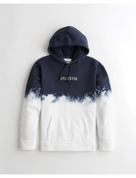 Ombré Logo Hoodie by Hollister