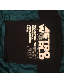 Travis Scott Astroworld Tour Staff T Shirt by Travis Scott  ×
