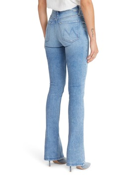 The Runaway High Waist Bootcut Jeans by Mother