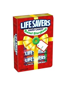 Life Savers Hard Candy Holiday Sweet Story Book   6.8oz by Life Savers