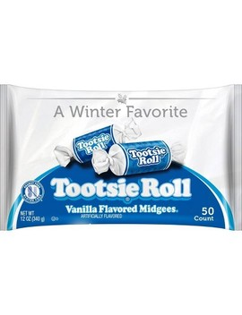 Tootsie Roll Vanilla Holiday Midgees   12oz by Tootsie Roll
