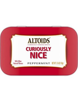 Altoids Classic Peppermint Breath Mints Holiday Gift Tin   1.76oz by Altoids