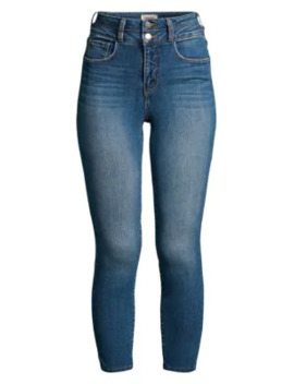 Peyton High Rise Skinny Ankle Crop Jeans by L'agence