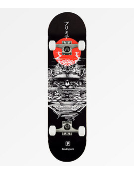 "Primitive Rodriguez Warrior 8.0"" Skateboard Complete by Primitive"