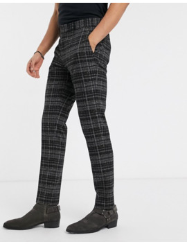 Heart & Dagger Super Skinny Pants In Check by Heart & Dagger