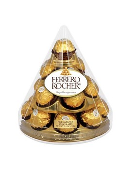 Ferrero Rocher Holiday Cone   7.5oz/17ct by Ferrero Rocher