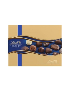 Lindt Holiday Classic Assorted Chocolate Gift Box   6.1oz by Lindt