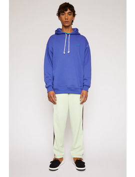 Oversized Hooded Sweatshirt Electric Blue by Acne Studios