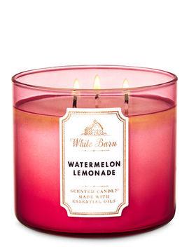 White Barn   Watermelon Lemonade   3 Wick Candle    by White Barn