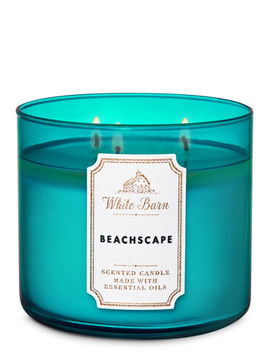 White Barn   Beachscape   3 Wick Candle    by White Barn