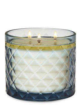 Smoked Vanilla   3 Wick Candle    by Bath & Body Works