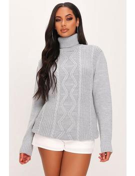 Knitted Turtleneck Jumper by I Saw It First