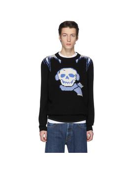 Black Bonesy Sweater by Coach 1941