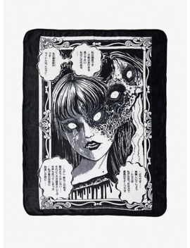 Junji Ito Tomie's True Beauty Throw Blanket by Hot Topic