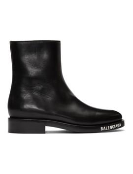 Black Soft Boots by Balenciaga