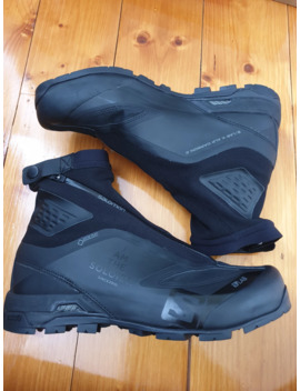 Black Salomon S/Lab Edition X Alp Carbon 2 Sneakers by Salomon  ×  Takahiromiyashita The Soloist.  ×  Goretex  ×