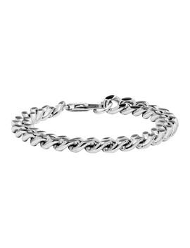 Silver & Black Marius Bracelet by A.P.C.