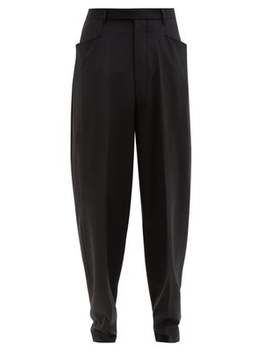 Tailored Wide Leg Trousers by Rick Owens