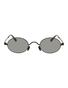 Black Mykita Edition Mmcraft005 Sunglasses by Maison Margiela
