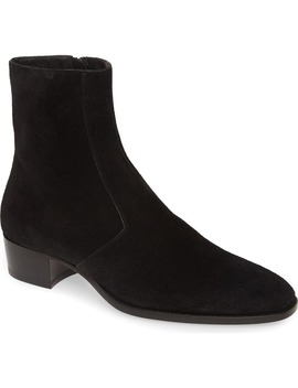 Wyatt Zip Boot by Saint Laurent