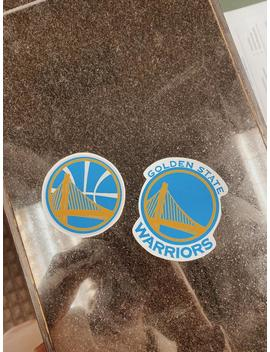Golden State Warriors Basketball Stickers by Etsy