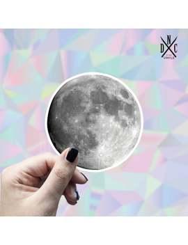 Moon Vinyl Sticker, Best Friend Gift, Laptop Decals, Cute Stickers, Decal, Macbook Decal, Stickers Macbook Pro by Etsy